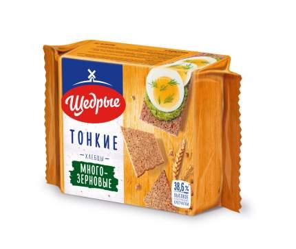 Хлебцы Щедрые тонкие многозерновые 170 г
