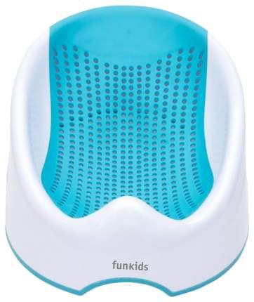 Горка для купания малыша FunKids Baby Bather Smart цвет голубой