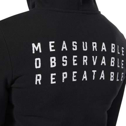 Женская толстовка Reebok CrossFit®Hooded Full Zip DP6214 черный M