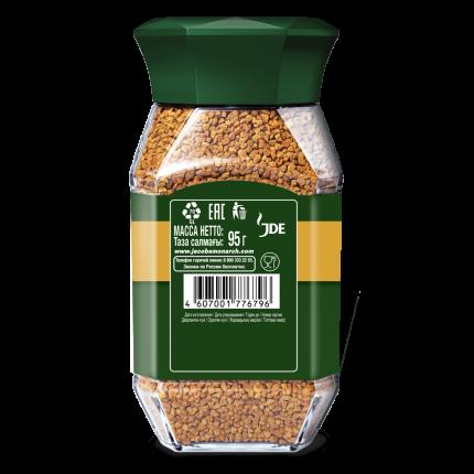 Кофе Jacobs monarch decaff натуральный растворимый сублимированный 95 г