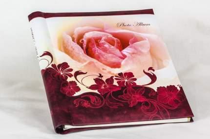 """Фотоальбом """"Роза"""" на 40 магнитных страниц 23х28 см, переплёт на пластиковой спирали"""