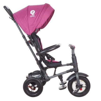 Велосипед детский QPlay трёхколёсный складной тёмно-красный QA6DR