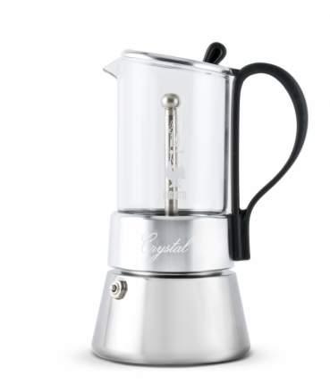 Гейзерная кофеварка Bialetti CRYSTAL индукц на 4 порции