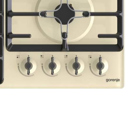 Встраиваемая варочная панель газовая Gorenje GTW641INI Beige