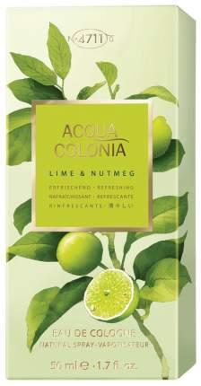 Одеколон 4711 Acqua Colonia Lime & Nutmeg 50 мл