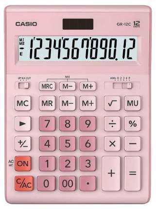 Калькулятор Casio GR-12C-PK-W-EP