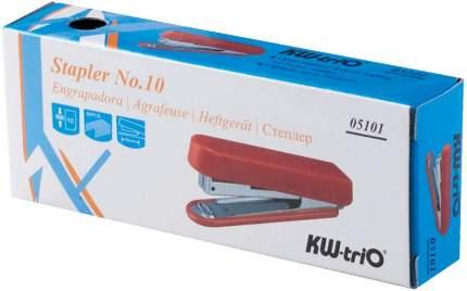 Степлер KW-trio N10, до 12 листов, эргономичный, ассортимент