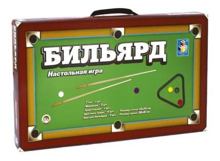 Настольная игра 1Toy бильярд 45х25 см