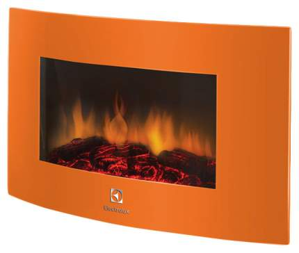 Электрокамин Electrolux EFP/W, оранжевый