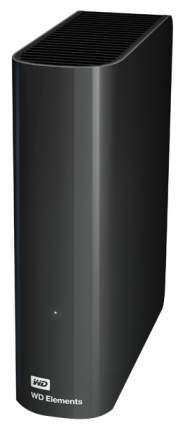 Внешний диск HDD WD Elements Desktop 4TB Black (WDBWLG0040HBK-04)