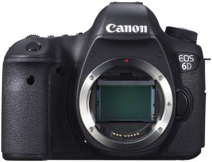Фотоаппарат зеркальный Canon EOS 6D WG Body Black