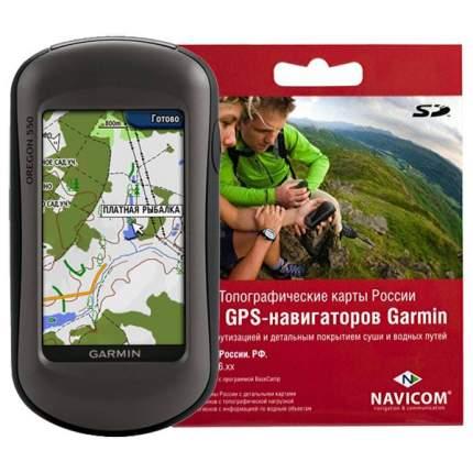 Туристический навигатор Garmin Oregon 550 черный