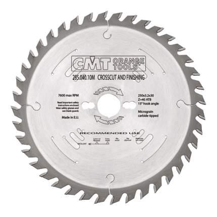 Пильный диск по дереву  CMT 285.040.10H
