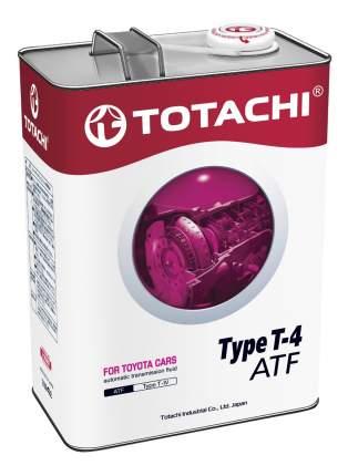 Трансмиссионное масло TOTACHI ATF TYPE T-IV 4л 4562374691025