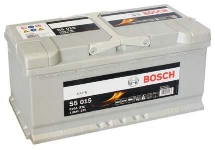 Аккумулятор автомобильный автомобильный Bosch S5 Silver Plus 0 092 S50 150 110 Ач