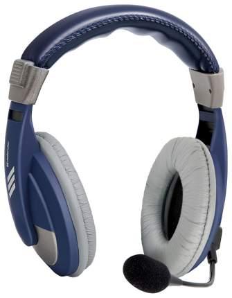 Игровые наушники Defender Gryphon 750 Grey/Blue
