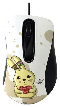 Мышь Crown CMM-30 Rabbit рисунок USB