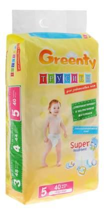 Подгузники GREENTY GREP-5m, 40 шт.