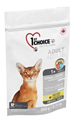 Сухой корм для кошек 1st choice HYPOALLERGENIC, гипоаллергенный, утка, 0,35кг