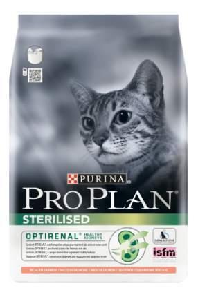 Сухой корм для кошек PRO PLAN Sterilised, для стерилизованных, лосось, рис, 0,4кг