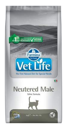 Сухой корм для котов Farmina Vet Life Neutered Male, для кастрированных, курица, 5кг