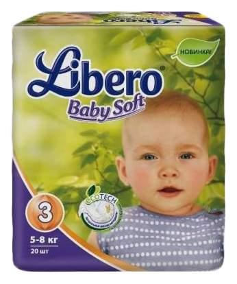 Подгузники Libero Baby Soft Ecotech 3 (5-8 кг), 20 шт.