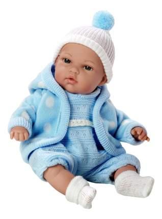Кукла Arias Elegance в флисовой курточке голубая, 33 см