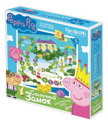 Семейная настольная игра Origami 01586 Peppa Pig Сказочный Замок