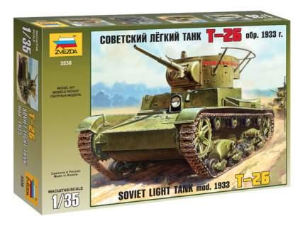 Модель для сборки Zvezda 1:35 Танк Т-26 1933 г.