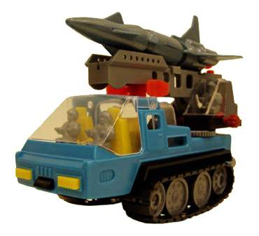 Машина военная Форма Ракетовоз Арктика