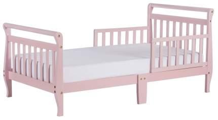 Кровать Dream On Me Classic Sleigh Toddler Bed Pink