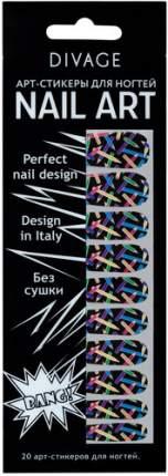 Наклейки для ногтей DIVAGE Nail Art №16