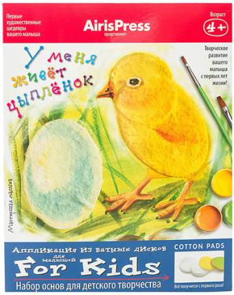 Набор для творчества АЙРИС У меня живет цыпленок. (25310)