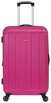 Чемодан Swissgear Uster розовый M