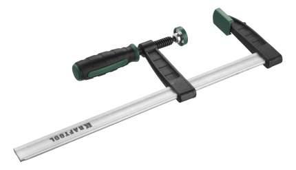 "Струбцина KRAFTOOL ""EXPERT"", тип ""F"", DIN 5117, двухкомпонентная ручка, 80х300мм"
