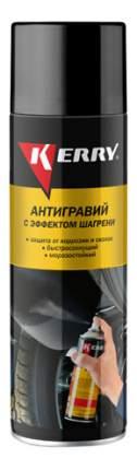 Антигравий с эффектом шагрени черный KERRY 650 мл