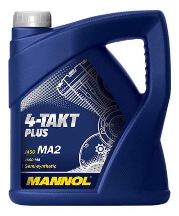 Моторное масло Mannol 4-Takt Plus 10W-40 4л