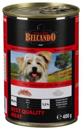Консервы для собак BELCANDO Finest Selection, с отборным мясом, 400г