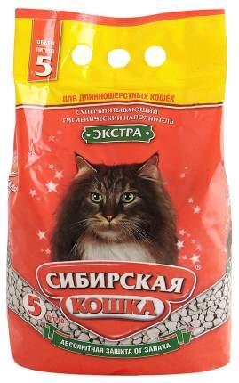 Наполнитель Сибирская кошка Экстра впитывающий 5 л без запаха