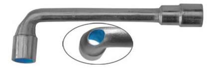 Торцевой Г-образный ключ FIT 63008