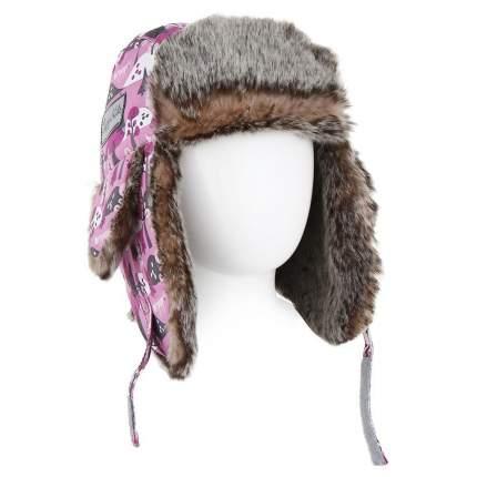 Детская шапка меховая Lappi Kids 0905 р.46 см 812 светло-розовый