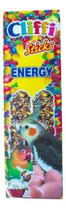 Лакомства для птиц Cliffi для длиннохвостых попугаев, палочки с яйцом и медом, 150г
