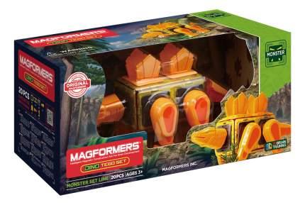 Конструктор магнитный Magformers Dino Tego set
