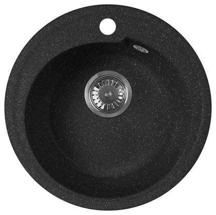 Мойка для кухни гранитная AquaGranitEx m-45 черный
