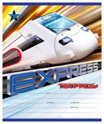 Тетрадь ученическая 18 листов Линейка Express Train
