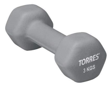 Гантель неопреновая Torres PL50013 3 кг