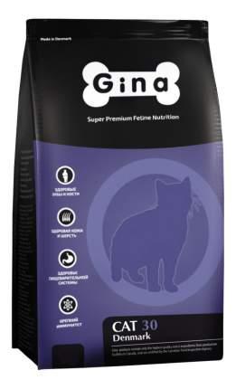 Сухой корм для кошек GINA DENMARK CAT-30, курица, рис, 7,5кг