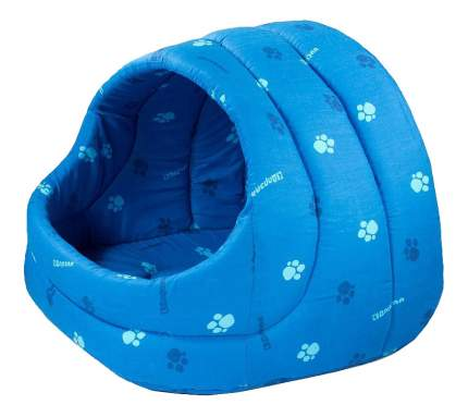 Домик для кошек Дарэлл 42х36х32 см синий