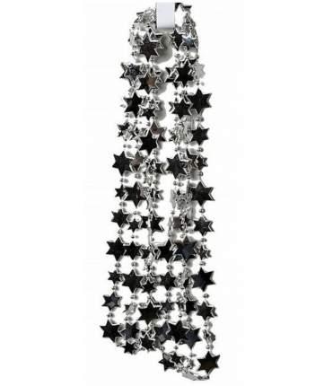 Kaemingk Бусы пластиковые Звезды 270 см серебряные 001310