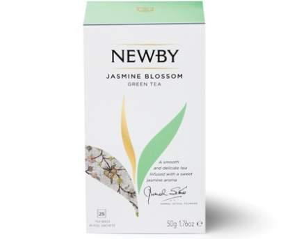 Чай зеленый Newby jasmine blossom 25 пакетиков